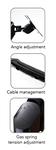 Gladius Single/Double Monitor Arm