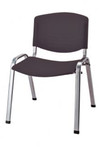 Penne Stacking Chair - Black