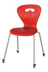 Goggle 4 Leg Visitor / Hospitality Chair - Stackable