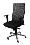 Mondrian Black Office Chair