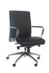 Tempo Mid Back Executive Chair - Black PU