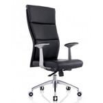 Scherzo Modern Executive Office Chair - Black PU