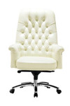 Eisenhower Executive Leather Office Chair - Mid / High Back