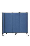 Great Mobile Room Partition Divider on Wheels