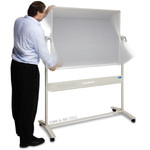 Mobile Porcelain Magnetic Whiteboard