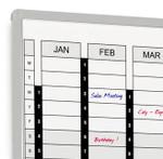 Perpetual Year Planner Board