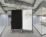 Communicate Whiteboard - Room Dividers on Wheels