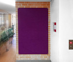 Smooth Velour Modern Pinboards - Unframed Wrapped