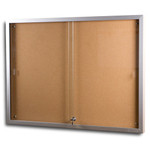 Sliding Glass Door Display Boards - Display Case