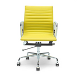 Eames Replica Leather Boardroom Chair - Multiple Colour Options