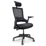Atomic Mesh Ergonomic Executive Office Chair - Black