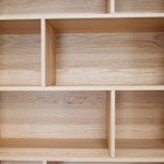 Philly Modern Wooden Bookcase - Natural