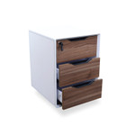 Jolt 2 & 3 Drawer Mobile Pedestal - Designer Office Storage