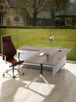 Potenza Modern Office Desk with Return