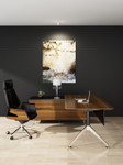 Novara Designer Executive Corner Office Desk with Lockable Storage