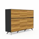 Novara Large Office Storage Cabinets -6 Doors