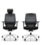 Vogue Ergonomic Office Chair - Aluminium Base - High / Mid Back Options