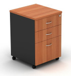 OM Mobile Pedestals with Two Drawers and One File