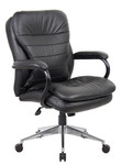 Titan Executive PU Leather Office Chair - High / Mid Back