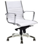 Cogra PU Leather Executive Boardroom Chair - High / Mid Back