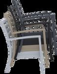 Artemis XL Outdoor Lounge Armchair - Stackable