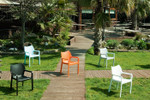 Diva Outdoor Cafe Arm Chair - Stackable
