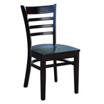 Florence Hospitality Chair - Timber Seat