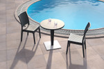Florida Outdoor Hospitality Chair - Stackable