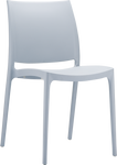 Maya Plastic Cafe Chair - Stackable