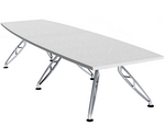 Boat Shaped Boardroom Table 12 Person
