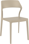 Snow Modern Plastic Chair - AFRDI Approved - Stackable - 6 Colours