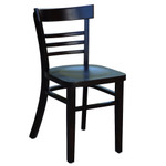 Vienna Hospitality Chair - Timber Seat