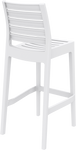 Ares Outdoor Bar Stool 75 - 5 Colours - Stackable