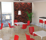 Gio Tall Stool - Outdoor Hospitality Chairs - Stackable - 5 Colours