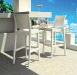 Jamaica Modern Outdoor Bar Stool - Stackable