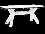 Ibiza Rattan Leg Outdoor Table for Cafe, Restaurants