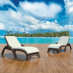 Fiji Sunlounger Cushion - Beige