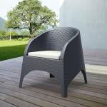 Aruba Outdoor Tub Chair Cushion - Beige