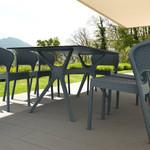 Ibiza Outdoor Cafe Table Rectangular Top