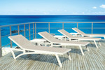 Pacific Sunlounger - Stackable