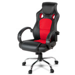 Racing Style PU Leather Office Desk Chair