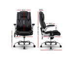 8 Point PU Leather Massage Chair