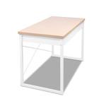 Artiss White Metal Desk with Drawer