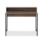 Artiss Student / Computer Desk - Black with Oak Top