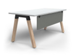 Grove Single Sided Desk with Modesty