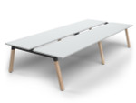 Grove 4 Users Double - Sided Desk