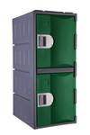 Steelco Heavy Duty 2 Door Plastic Locker 900