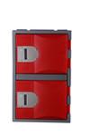 Steelco Heavy Duty 2 Door Plastic Locker 600