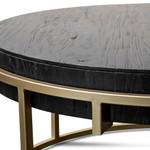Zara Round Coffee Table - Golden