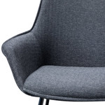 Madison Dining Chair - Charcoal Grey (Set of 2)